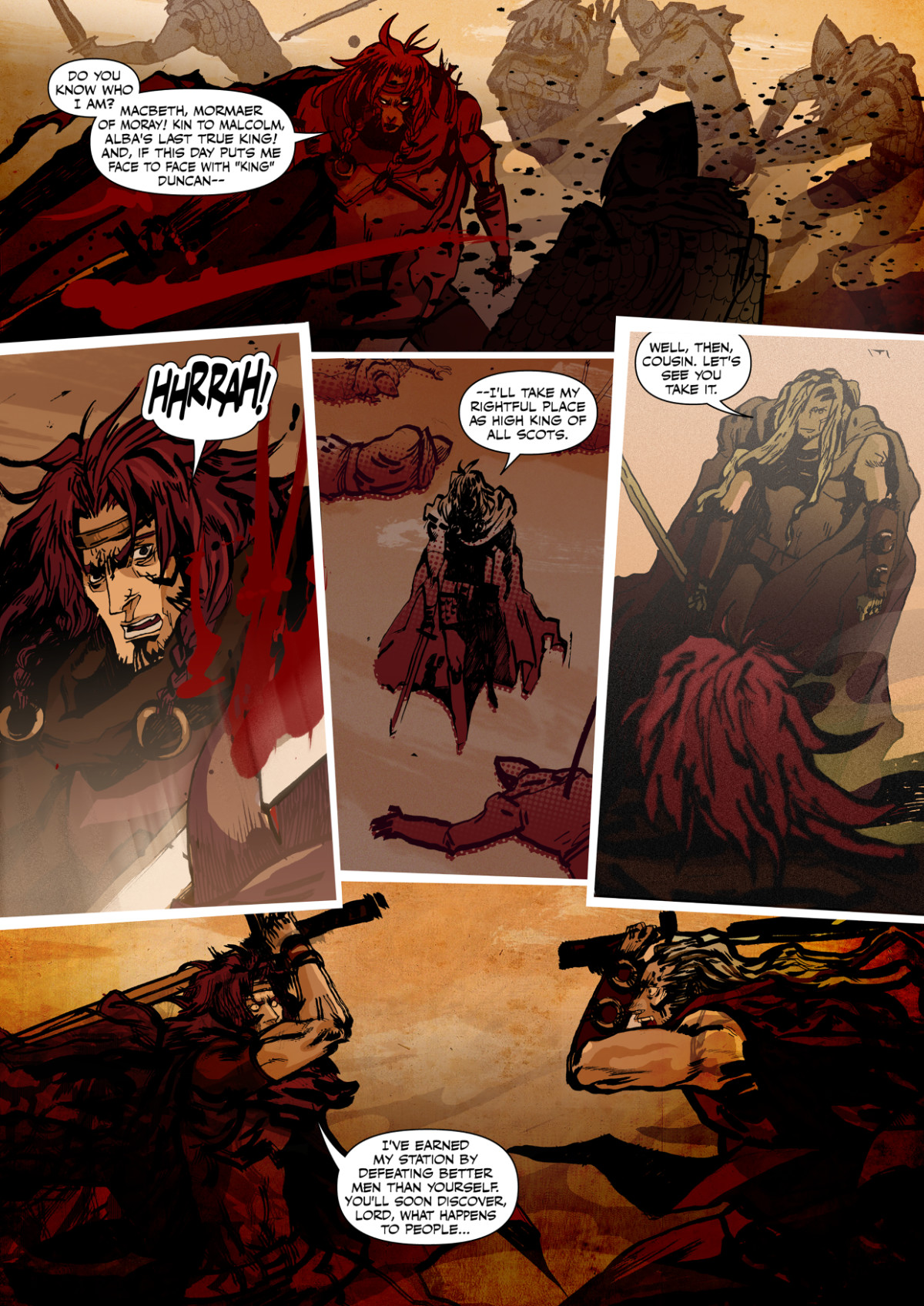 Macbeth: The Red King Preview Page 3