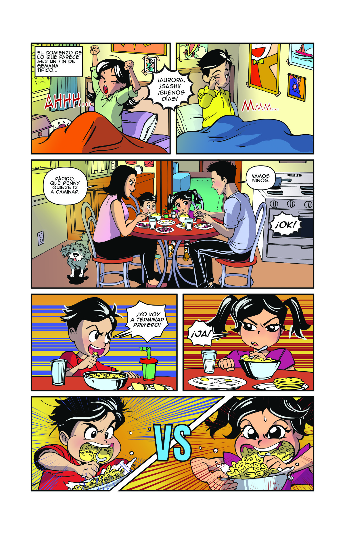 Lucha Comics - Super Yeiya 01 page 2 es preview